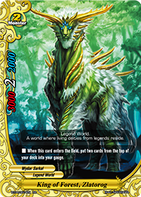 King of Forest, Zlatarog