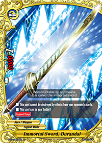 Immortal Sword, Durandal