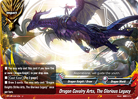 Dragon Calvary Arts, The Glorious Legacy