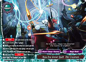 New-Era Great Spell, The Creation
