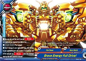 Brave Energy Full Drive!