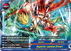 Superior Justice Driver!