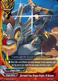 Sorrowful Face Dragon Knight, El Quixote
