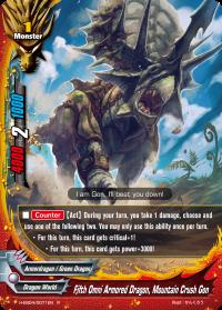 Fifth Omni Armored Dragon, Mountain Crush Gon