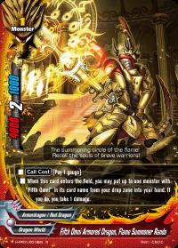 Fifth Omni Armored Dragon, Flame Summoner Rando