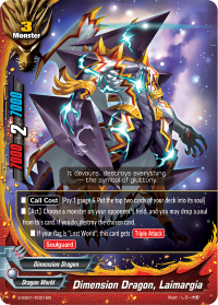 Dimension Dragon, Laimargia