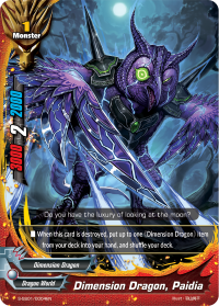 Dimension Dragon, Paidia