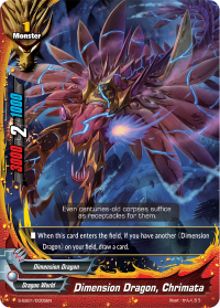 Dimension Dragon, Chrimata