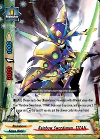 Rainbow Swordsman, TITAN