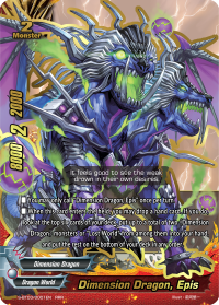 Dimension Dragon, Epis