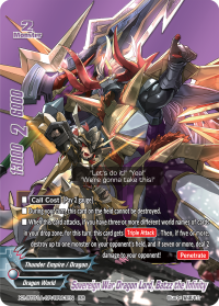 Sovereign War Dragon Lord, Batzz the Infinity