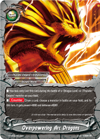 Overpowering Arc Dragons