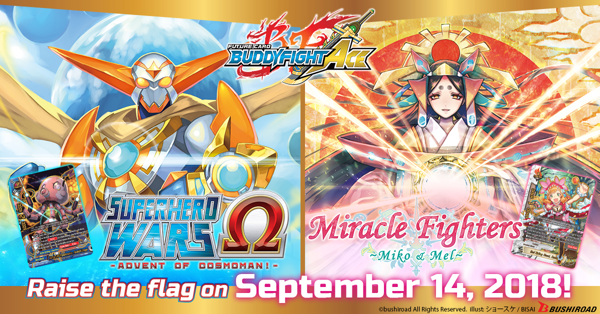 S Ultimate Booster Superhero Wars Ω -Advent of Cosmoman!- Miracle Fighters ~Miko & Mel~