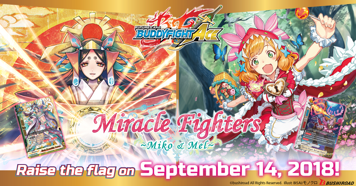 S Ultimate Booster Vol. 2: Miracle Fighters ~Miko & Mel~
