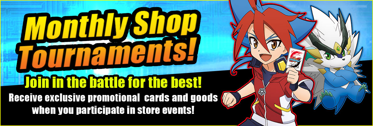 Monthly Shop Tournaments