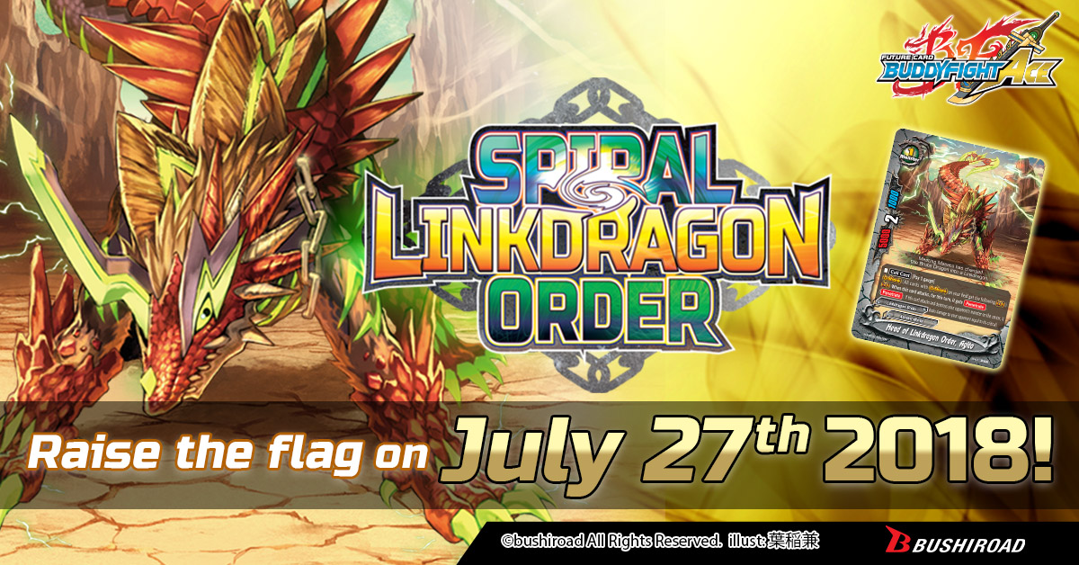 Spiral Linkdragon Order sd03 buddyfight