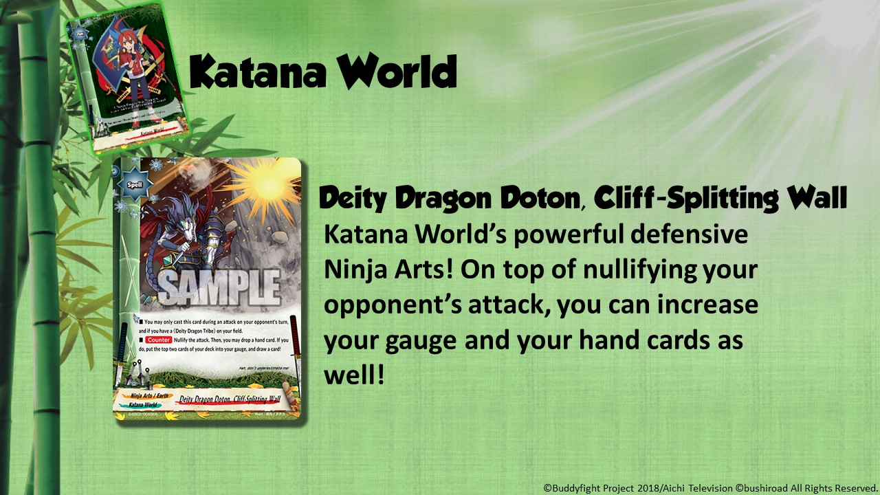 Future Card Buddyfight Updates on sss02 Deity Dragon Doton, Cliff Splitting Wall