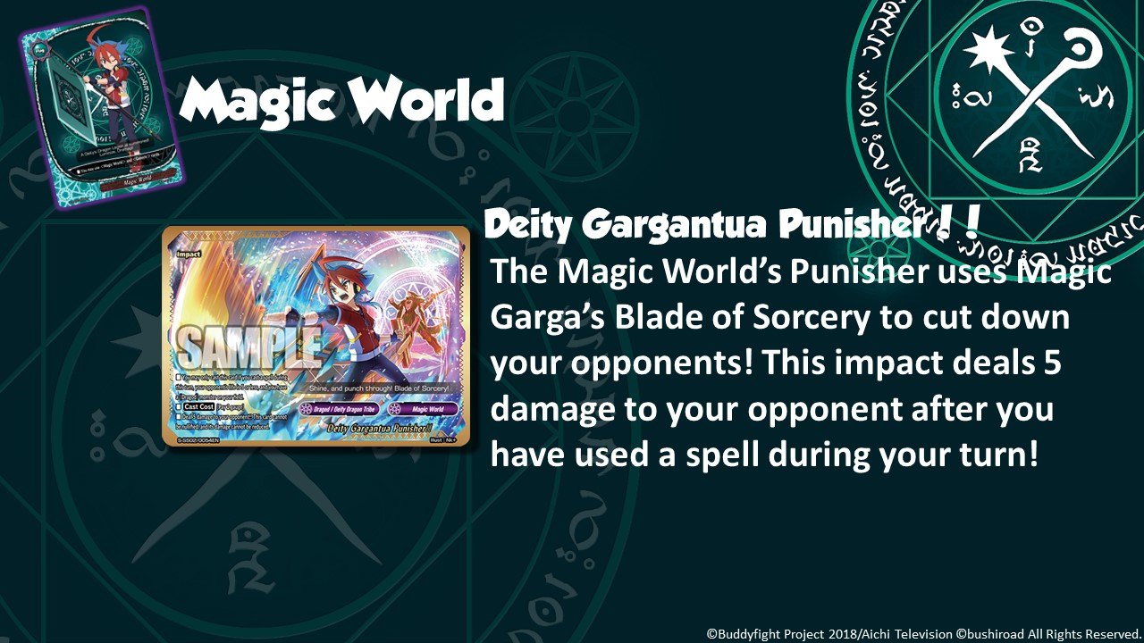 Future Card Buddyfight Updates on sss02 Deity Gargantua Punisher