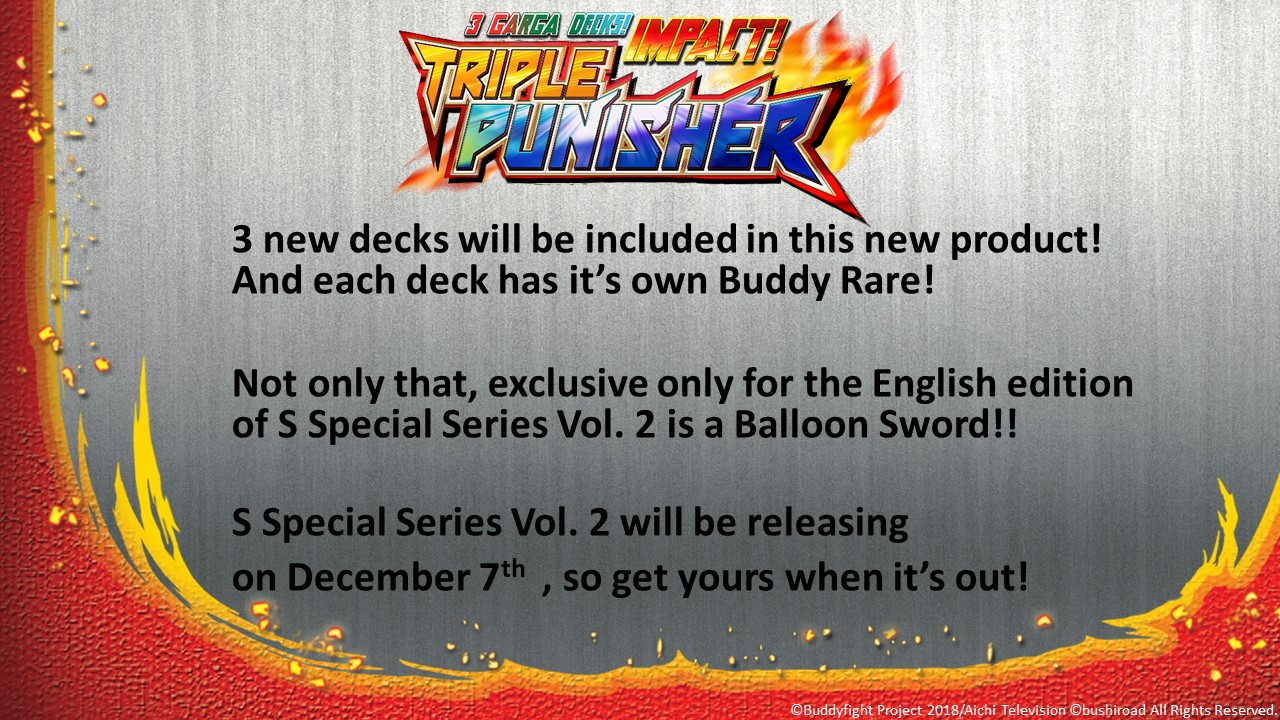 Future Card Buddyfight Updates on sss02