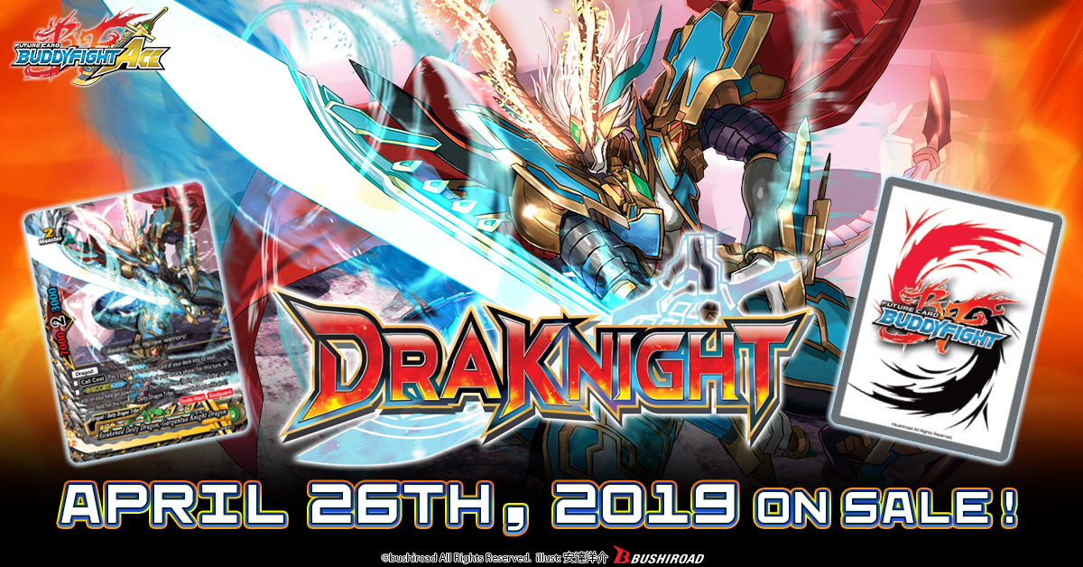 BFE-S-TD01 Draknight (English) Future Card Buddyfight Ace