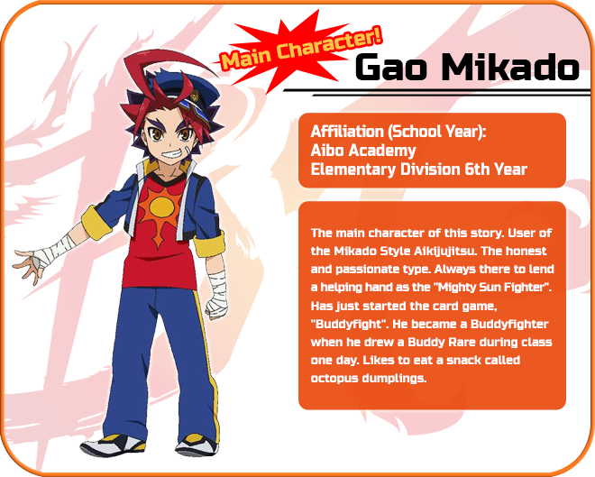 Character & Monster Introduction | Future Card Buddyfight
