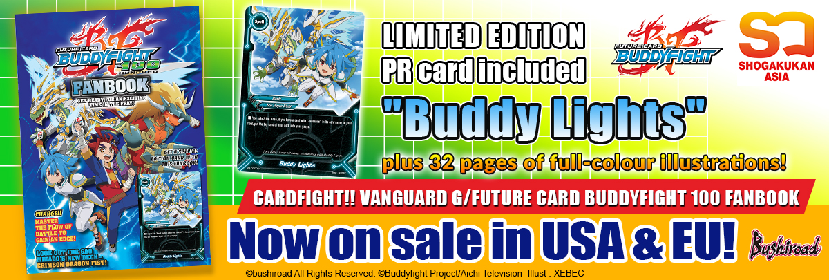 Future Card Budyfight 100 Fanbook