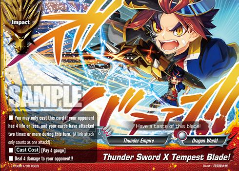 X Start Deck Vol 1 Demon Lord Dragon Of Tempest X Start Deck Vol